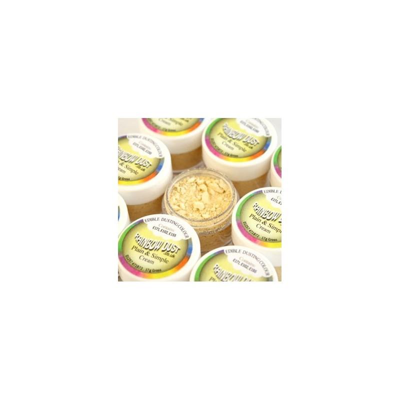 Plain&Simple - Cream - Rainbow Dust in vendita su Sugarmania.it