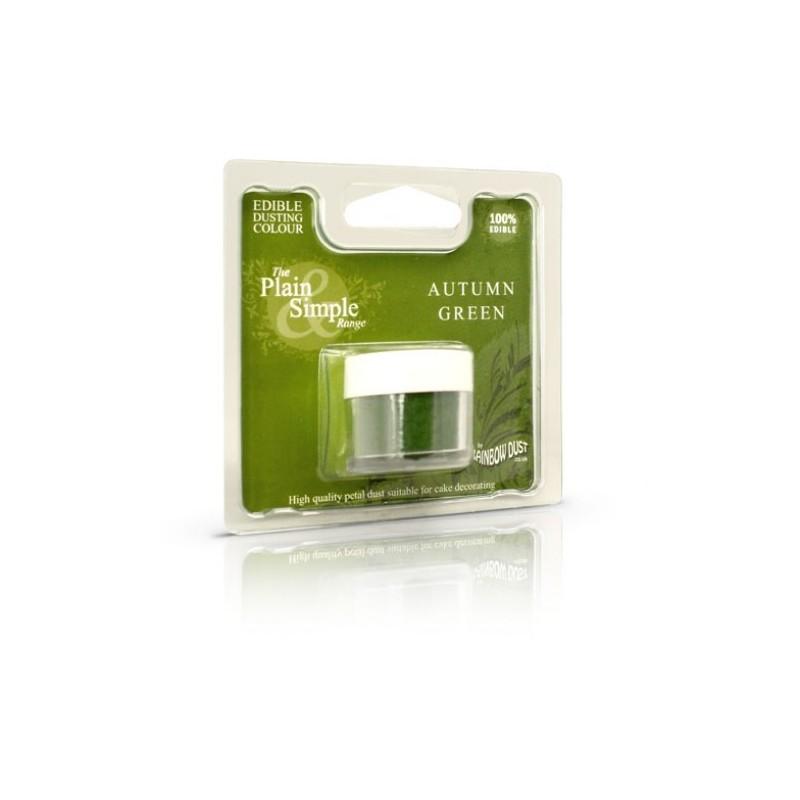 Plain&Simple - Autumn Green - Rainbow Dust in vendita su Sugarmania.it