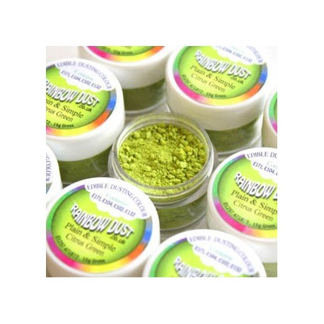 Plain&Simple - Citrus Green - Rainbow Dust in vendita su Sugarmania.it