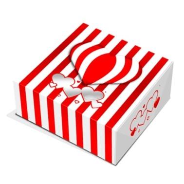 Scatola per biscotti e macarons cuori -  in vendita su Sugarmania.it