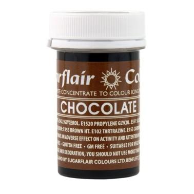 Sugarflair Paste Colour Cocolate, 25gr. - Sugarflair in vendita su Sugarmania.it