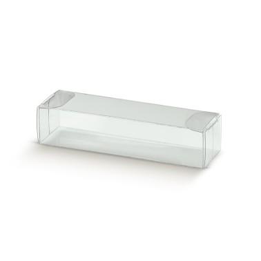10 pz scatole per macarons trasparenti in PVC - Scotton in vendita su Sugarmania.it