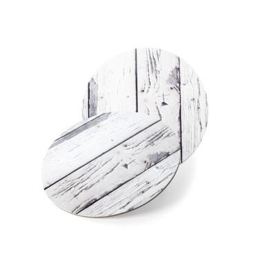 Disco sottotorta tondo legno chiaro -  in vendita su Sugarmania.it