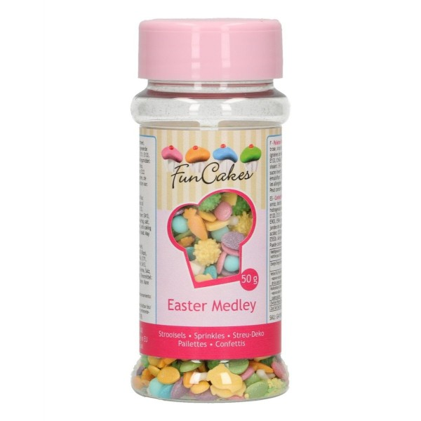 Sprinkle medley Pasqua 50 g FunCakes - Funcakes in vendita su Sugarmania.it