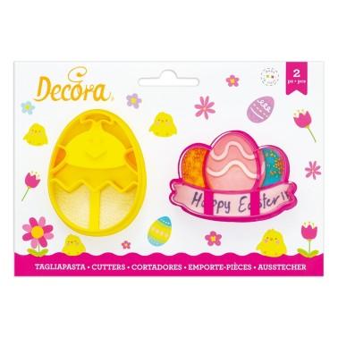 Tagliapasta pulcino e uova con festone Pasqua Decora - Decora in vendita su Sugarmania.it
