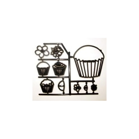 Patchwork Cutter Cup Cakes - Patchwork Cutters in vendita su Sugarmania.it