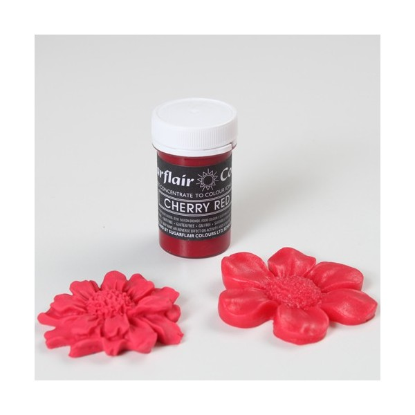 Sugarflair Paste Colours - Pastel Cherry Red - 25g - Sugarflair in vendita su Sugarmania.it