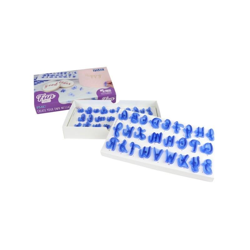 Stampi lettere Pme a impressione Fun Fonts - PME in vendita su Sugarmania.it