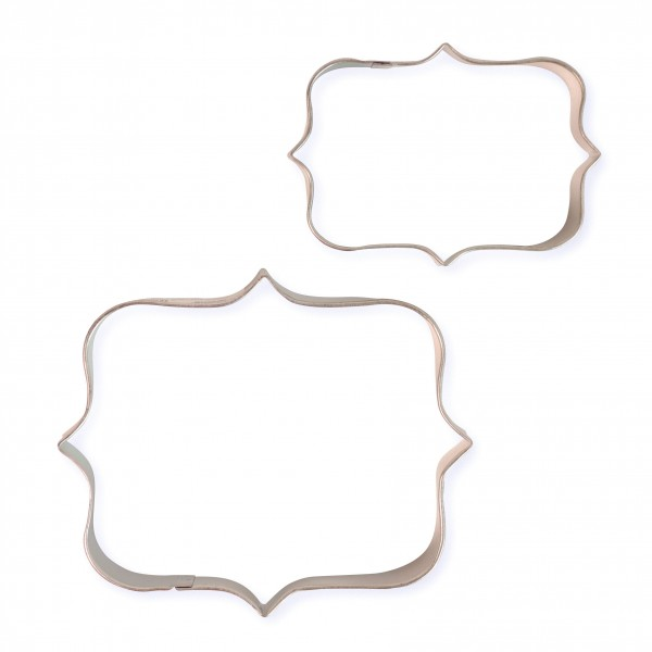 Set 2 cutter placca stile 1 PME - PME in vendita su Sugarmania.it