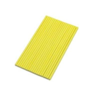 Bastoncini per cake pops gialli 15 cm 20 pezzi - Silikomart in vendita su Sugarmania.it