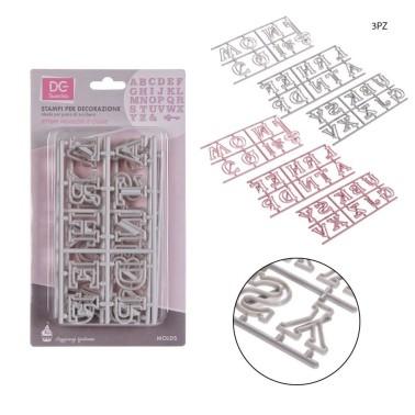 Cutter alfabetto maiuscolo con la chiave - DC Casa in vendita su Sugarmania.it