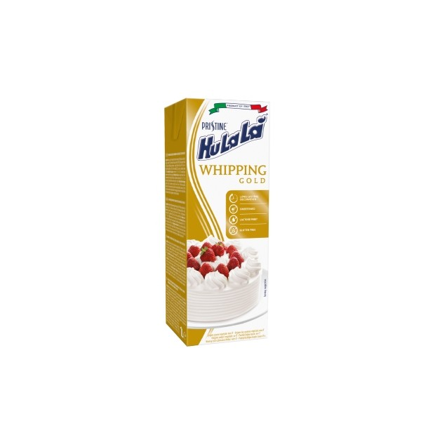 Crema vegetale da montare Pristine Hulalà Gold 1l - Pristine Hulalà in vendita su Sugarmania.it