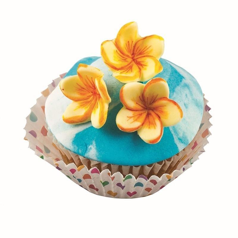 Stampo fiori mini Frangipane Silikomart - Silikomart in vendita su Sugarmania.it