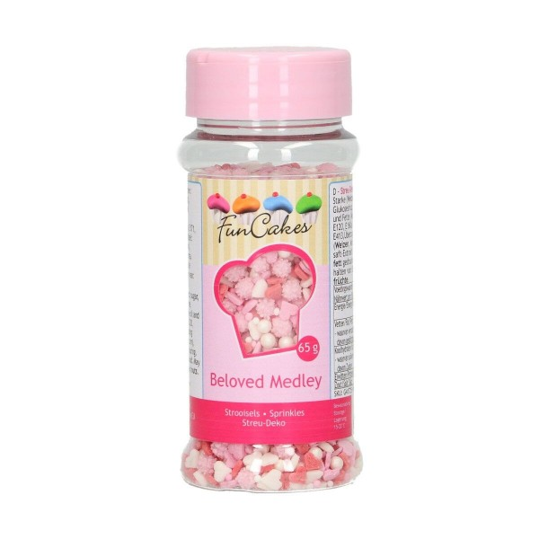 Sprinkles Beloved Medley 65 g FunCakes - Funcakes in vendita su Sugarmania.it