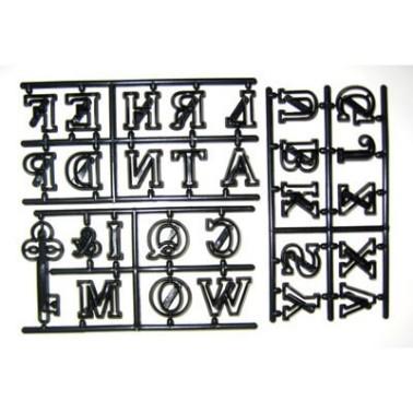 Patchwork Cutter Alfabeto grande più la chiave - Patchwork Cutters in vendita su Sugarmania.it