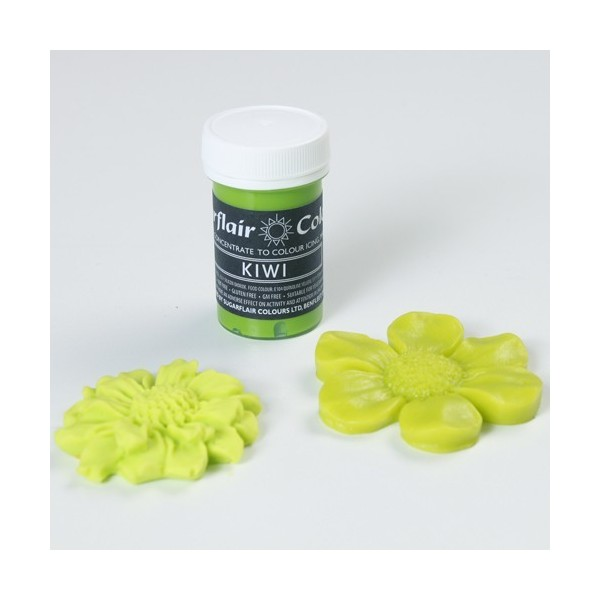 Sugarflair Paste Colours - Pastel Kiwi - 25g - Sugarflair in vendita su Sugarmania.it