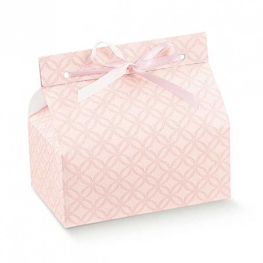 Set 10 scatoline per dolcetti Chic matelassè rosa - Scotton in vendita su Sugarmania.it