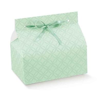 Set 10 scatoline per dolcetti Chic matelassè verde - Scotton in vendita su Sugarmania.it