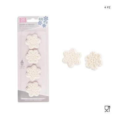 Set 4 stampi a taglia e imprimi fiore - DC Casa in vendita su Sugarmania.it