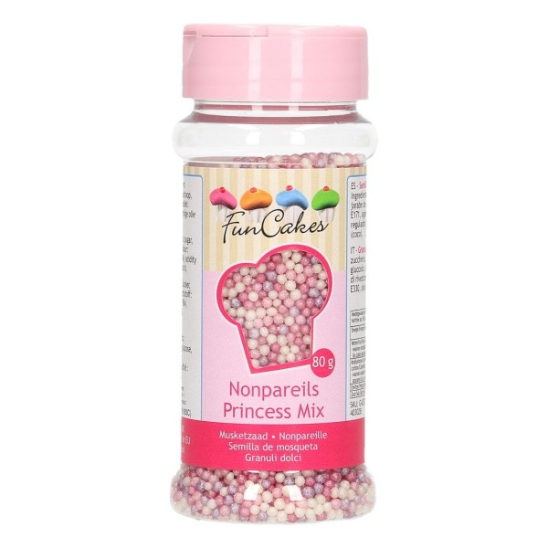 Mompariglia FunCakes Princess mix 80 g - Funcakes in vendita su Sugarmania.it