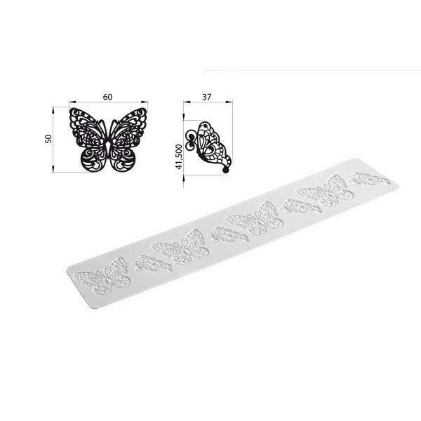 Tappeto BUTTERFLY Silikomart - Silikomart in vendita su Sugarmania.it