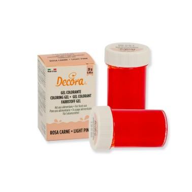 Colorante alimentare rosa carne in gel Decora 28 g - Decora in vendita su Sugarmania.it