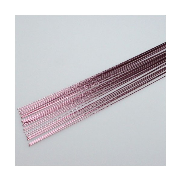 Culpitt floreal wire Metallic Pale Pink 24 gauge - in vendita su Sugarmania.it
