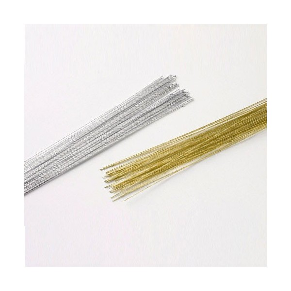 Culpitt floreal wire Gold 24 gauge -  in vendita su Sugarmania.it