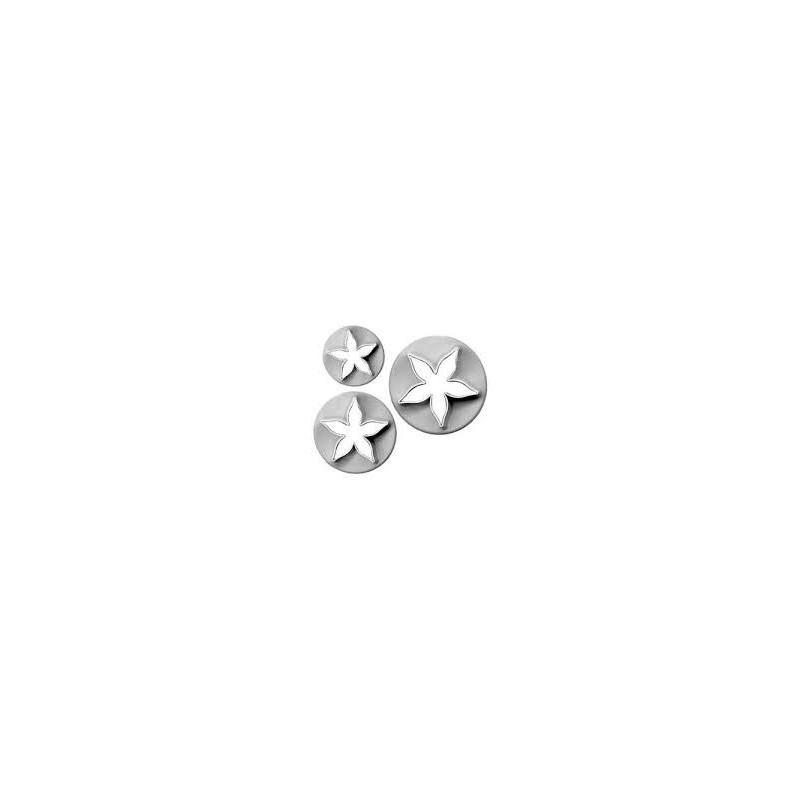 Set fiore a stella semplice  -  in vendita su Sugarmania.it