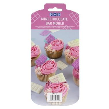 Mini stampo barretta di cioccolato PME - PME in vendita su Sugarmania.it