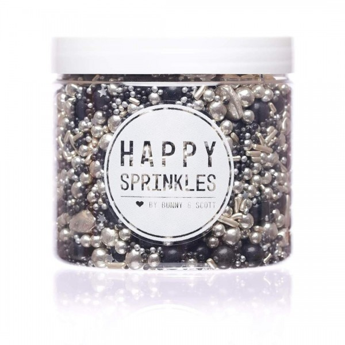 Happy Sprinkles Black Pearl 180 g - Happy Sprinkles in vendita su Sugarmania.it