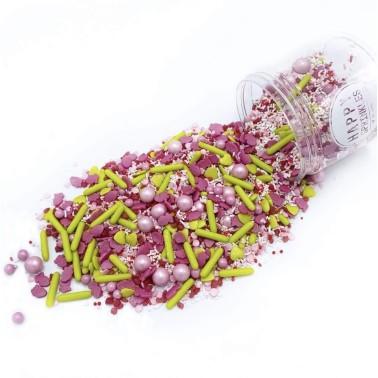 Happy Sprinkles Very Strowberry 180 g - Happy Sprinkles in vendita su Sugarmania.it