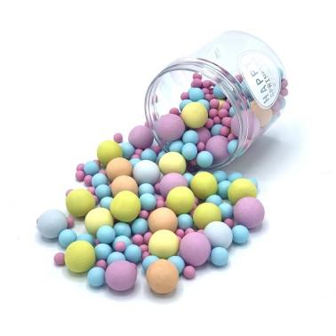Happy Sprinkles Bubble gum choco crunch 130 g - Happy Sprinkles in vendita su Sugarmania.it