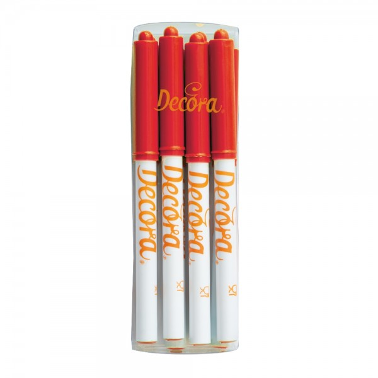 Pennarello alimentare rosso Decora - Decora in vendita su Sugarmania.it