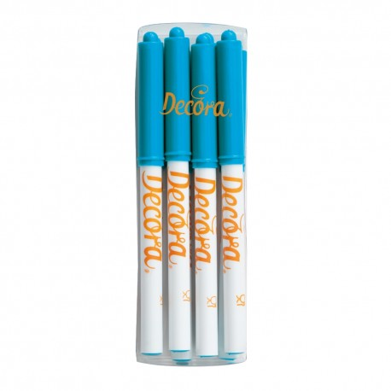 Pennarello alimentare azzurro Decora - Decora in vendita su Sugarmania.it
