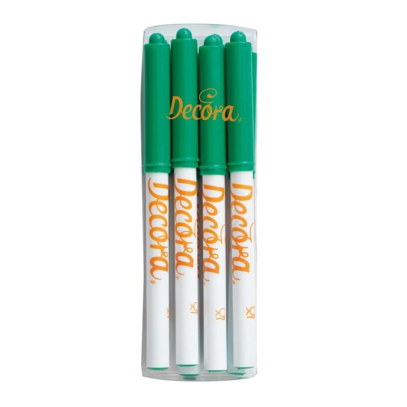Pennarello alimentare verde Decora - Decora in vendita su Sugarmania.it