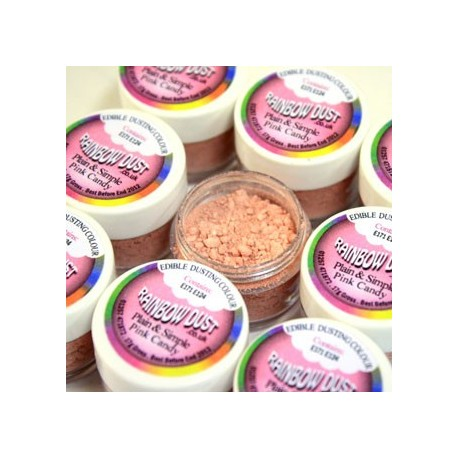 Plain&Simple - Pink Candy - Rainbow Dust in vendita su Sugarmania.it