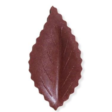 Foglia in cialda marrone 100 pezzi  - Terezie Jirsova in vendita su Sugarmania.it