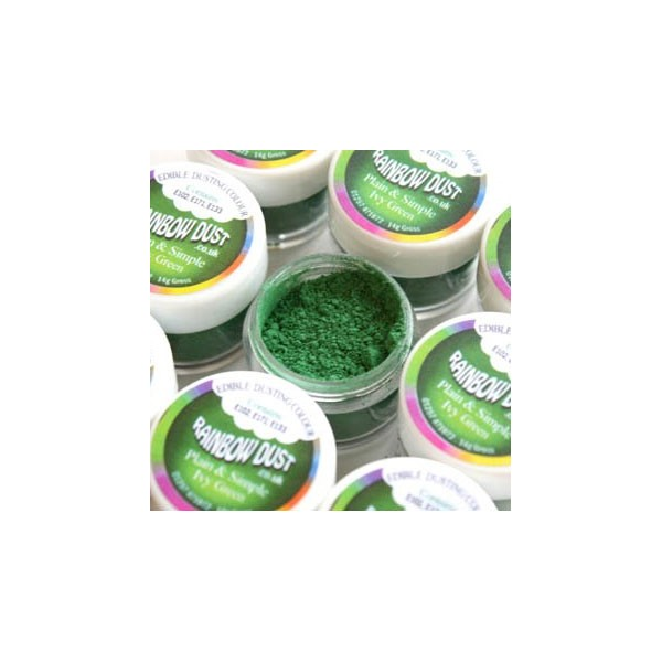 Plain&Simple -  Ivy Green - Rainbow Dust in vendita su Sugarmania.it
