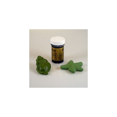 Sugarflair Paste Colour SPRUCE GREEN, 25gr. - Sugarflair in vendita su Sugarmania.it
