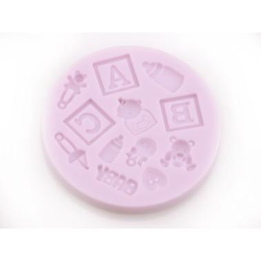Stampo in silicone Baby 1 -  in vendita su Sugarmania.it