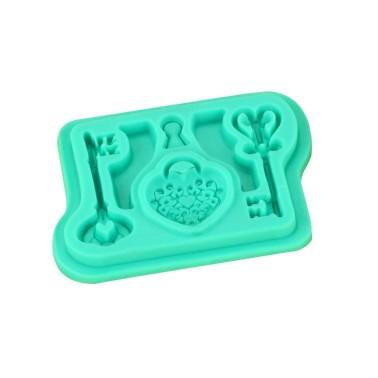Stampo in silicone chiavi antiche -  in vendita su Sugarmania.it