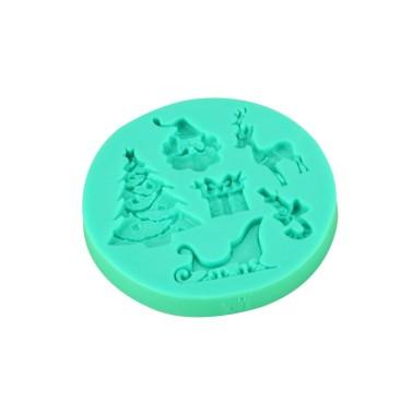 Stampo in silicone Natale -  in vendita su Sugarmania.it