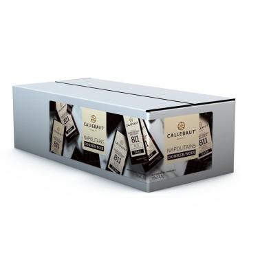 75 pezzi x 13,5 g Napolitains cioccolato fondente belga 811 Callebaut  - Callebaut in vendita su Sugarmania.it