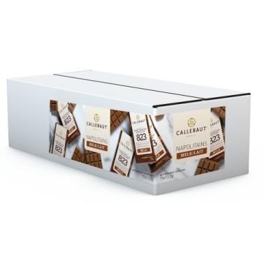 75 pezzi x 13,5 g Napolitains cioccolato al latte 823 Callebaut  - Callebaut in vendita su Sugarmania.it