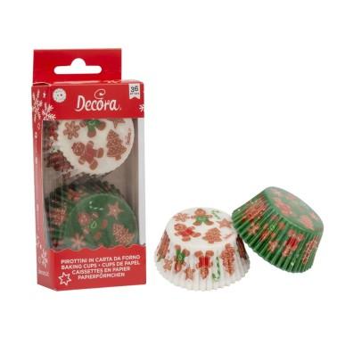 Pirottini Gingerbread family Decora 36 pezzi - Decora in vendita su Sugarmania.it