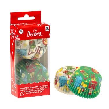 Pirottini Schiaccianoci Decora 36 pezzi - Decora in vendita su Sugarmania.it