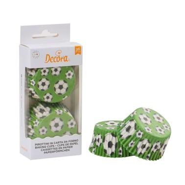 Pirottini calcio Decora 36 pezzi - Decora in vendita su Sugarmania.it