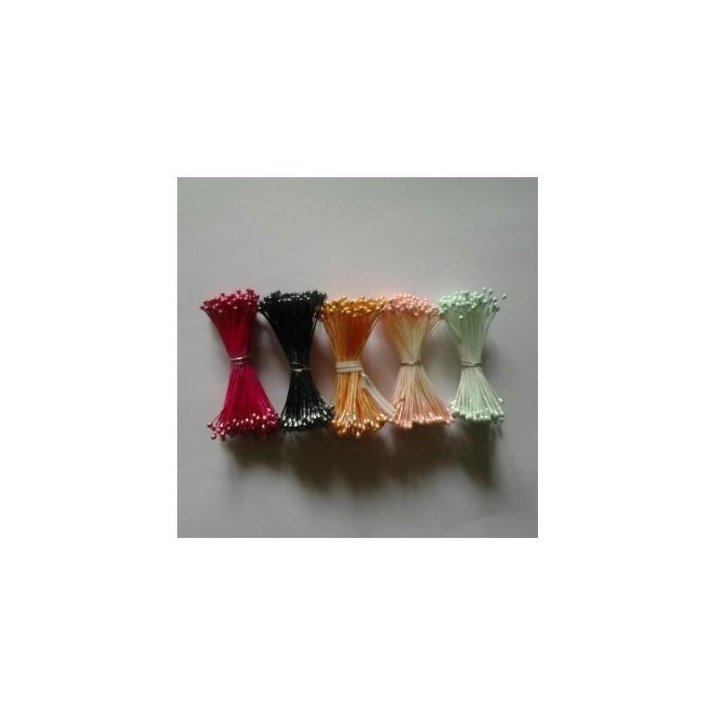 PISTILLI perlati medi - rosa - in vendita su Sugarmania.it