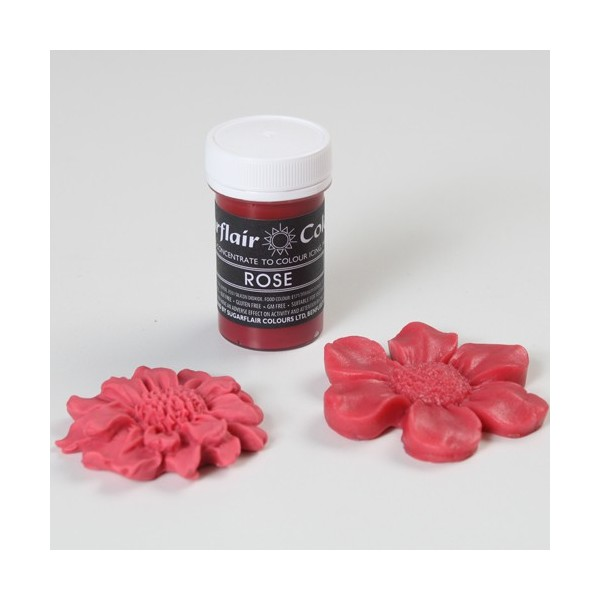 Sugarflair Paste Colours - Pastel Rose - 25g - Sugarflair in vendita su Sugarmania.it